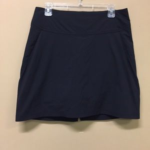 ROYAL ROBBINS Black Stretch Quick Dry  Skort Skirt